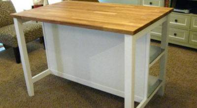 Remodelaholic New Ikea Kitchen Island