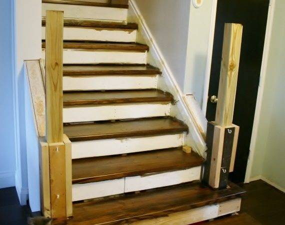 Remodelaholic Rise Adding Stair Risers