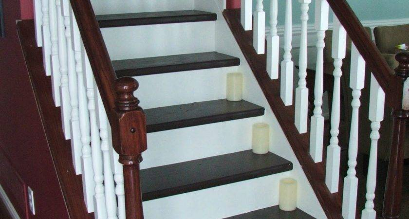 Remodelaholic Under Carpeted Stair Wooden Tread