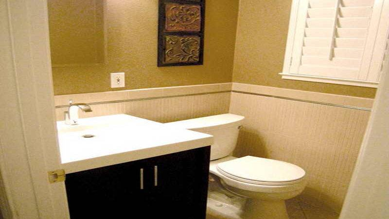Remodeling Small Bathroom Budget Grasscloth