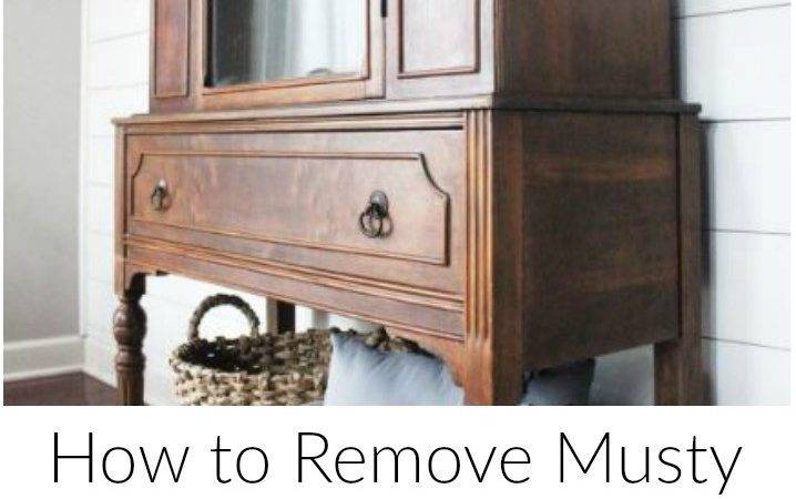 Remove Musty Smell Old Furniture