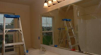 Removing Builder Grade Mirror Tell All