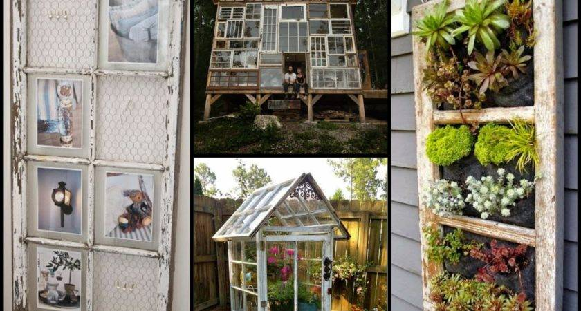 Repurposed Old Windows Best Recycling Ideas Youtube