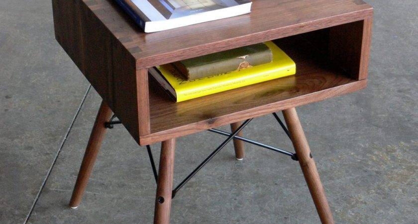 Reserved Listing Mid Century Modern Inspired Side Table