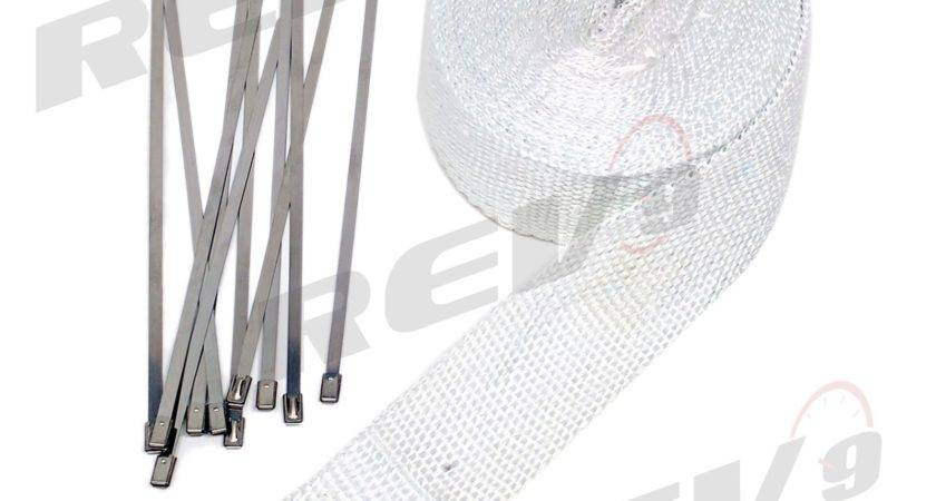 Rev Power Heat Wrap Stainless Steel Zip Ties