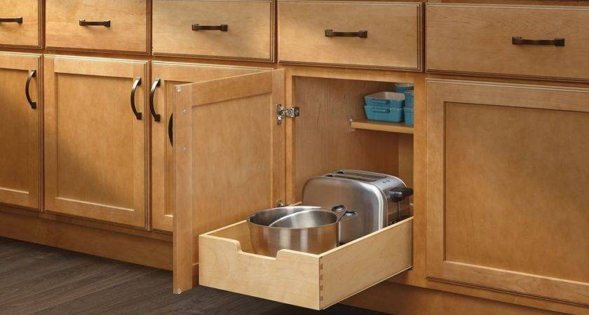 Rev Shelf Wdb Medium Wood Base Cabinet Pull Out
