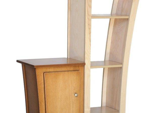 Reversible Stacked Bookcase Base Cabinet Dust Furniture