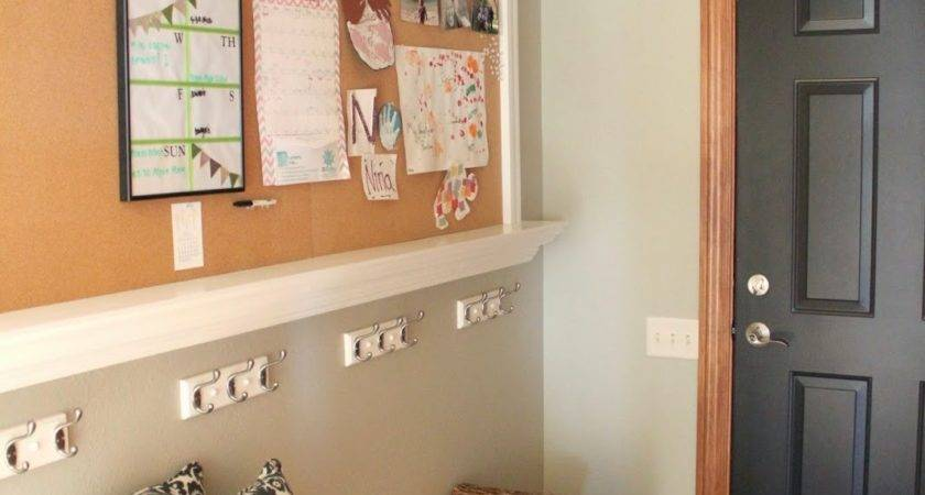 Rhubarb Linen Mudroom Before After