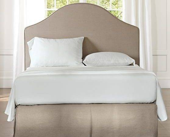 Riley Slipcovered Headboard Pottery Barn