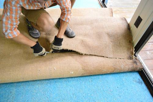 Ripping Rug Removing Pad Tack Strips