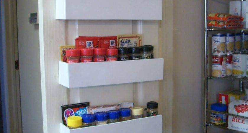 Robbygurl Creations Diy Pantry Door Spice Racks