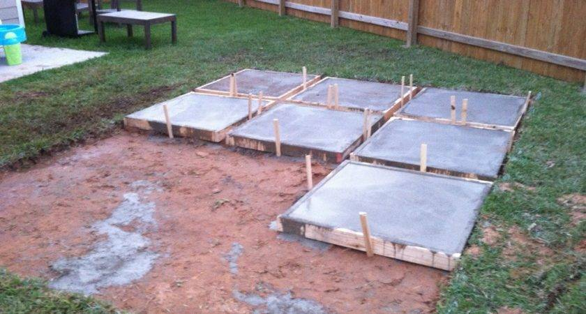 Roll Acosta Life Diy Backyard Patio Part