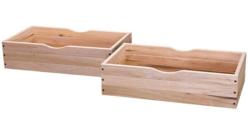 Rolling Underbed Storage Drawer Reviews Birch Lane