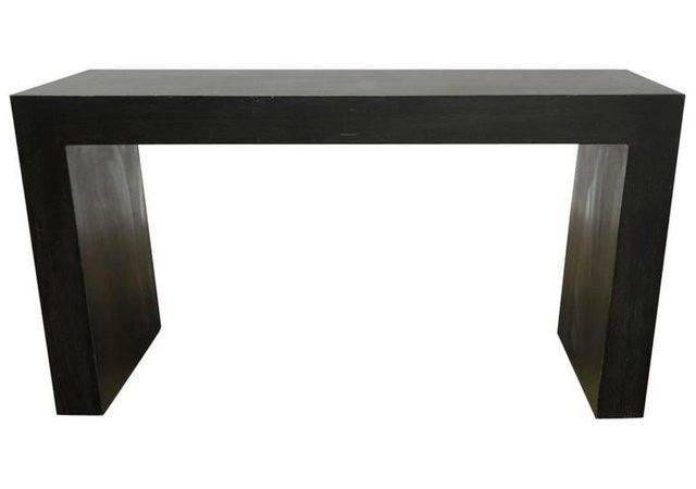 Ron Mann Contemporary Waterfall Console Table Chairish