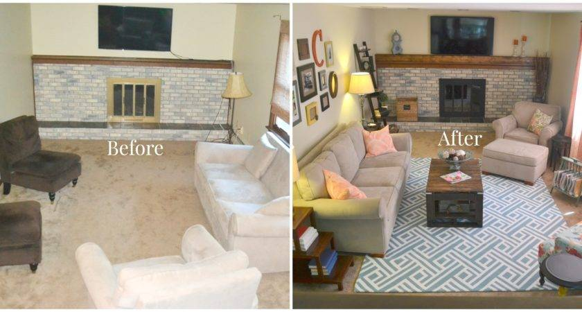 Room Makeover Diy Coffee Table