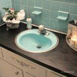 Rosemary Lane Painted Bathroom Counter Top