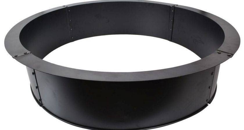 Round Fire Ring Home Depot