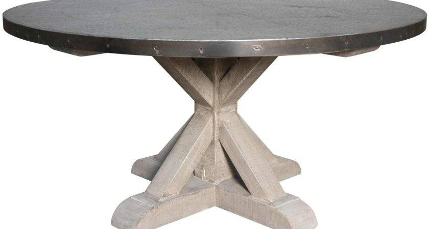 Round Metal Top Kitchen Table Tables Sets