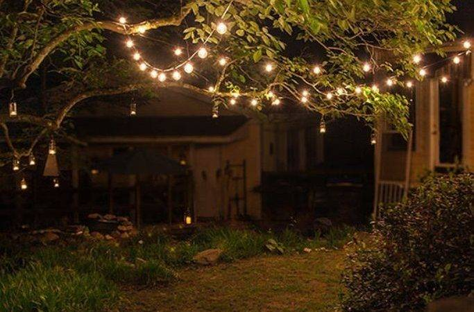 Round Shaped Pathways Sparkling Outdoor String Lights