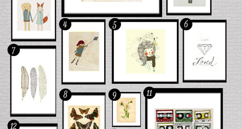 Roundup Printables Walls Little Gold