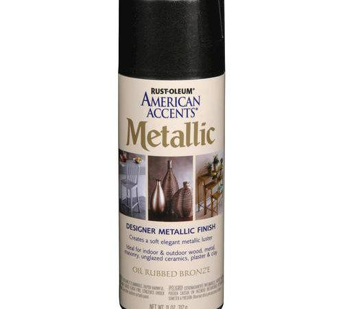 Rust Oleum American Accents Metallic Oil Rubbed Bronze