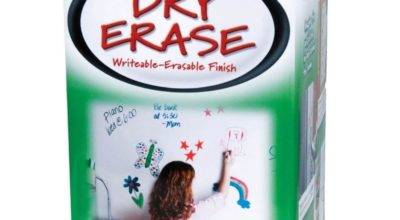 Rust Oleum Pack Dry Erase Brush Paint Kit