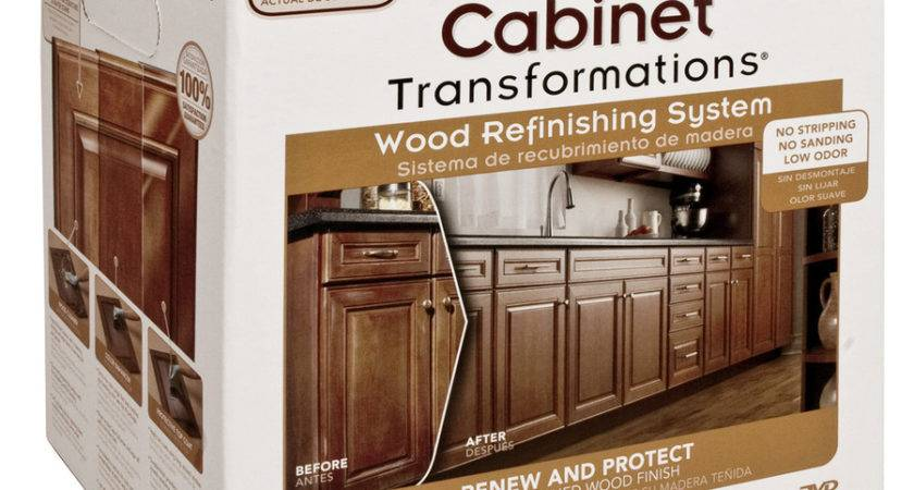 Rust Oleum Transformations Kit Cabinet Wood Refinishing
