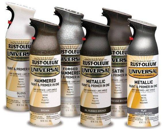 Rust Oleum Universal All Surface Metallic Satin Oil
