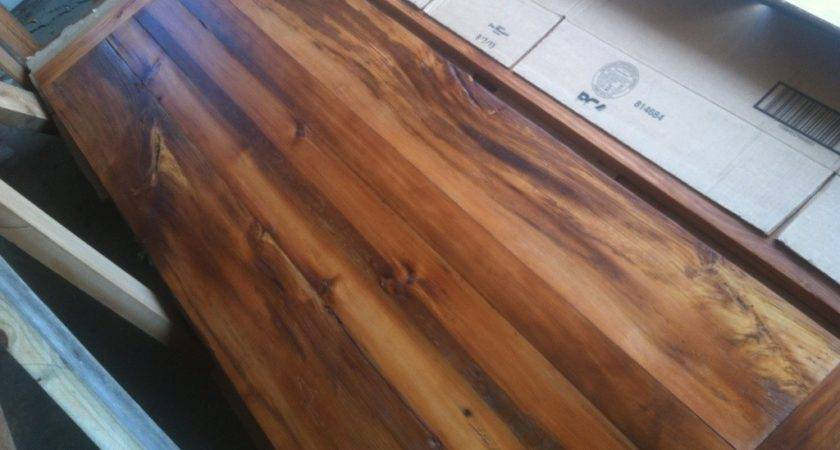 Rustic Barnwood Counter Tops