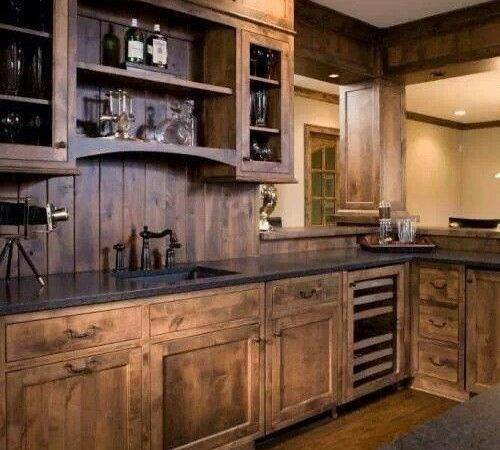 Rustic Cabinets Design Ideas Home Garden
