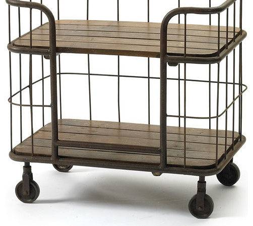 Rustic Chic Tiered Table Cart Eclectic Bar Carts
