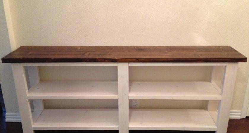 Rustic Console Table Thelotteryhouse