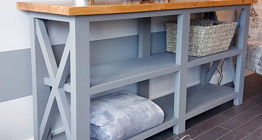 Rustic Console Table Twisted Pine Woodworking
