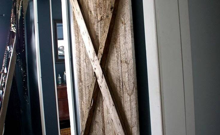 Rustic Hanging Diy Barn Door Diyideacenter