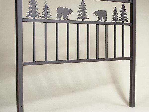 Rustic Profiles Headboard Design Your Own Cabin Decor