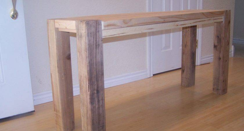Rustic Simple Square Cedar Outdoor Dining Table