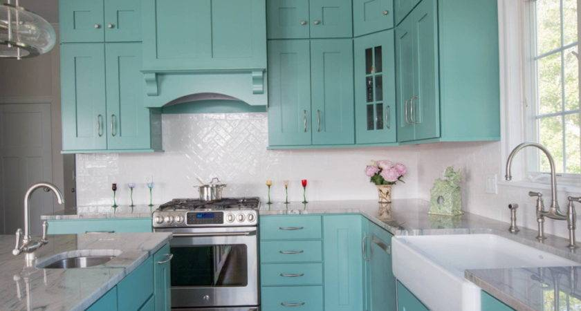 Rustic Turquoise Kitchen Cabinets Home Design Ideas