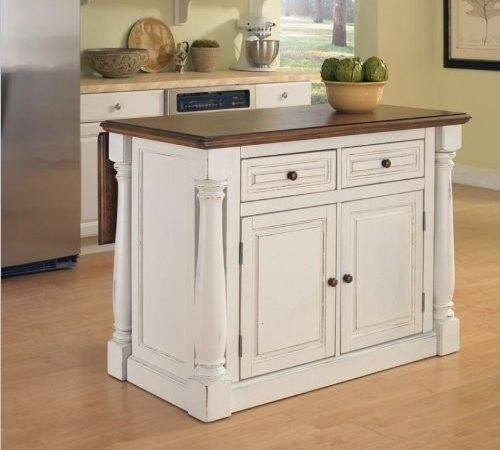 Rustic White Kitchen Cabinets Pixshark