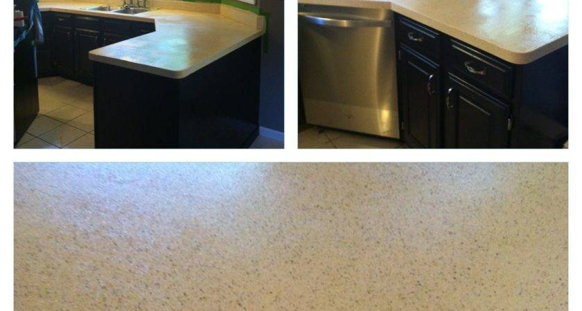 Rustoleum Countertop Transformations Color Pebbled