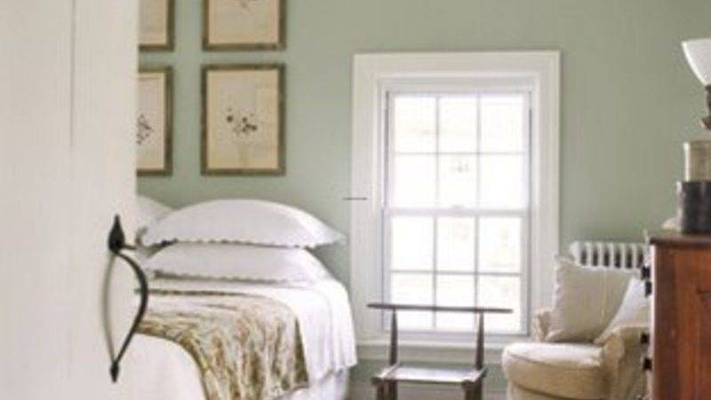 Sage Green Bedroom Guilford Paint Color