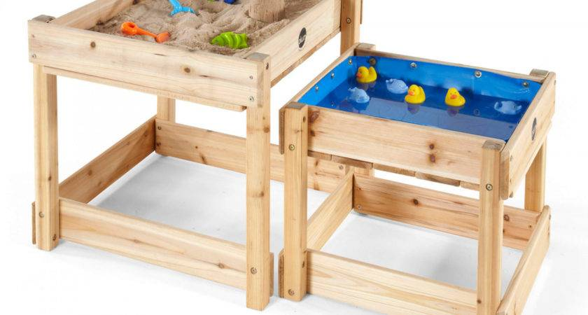 Sandy Bay Wooden Sand Water Tables Plum Play