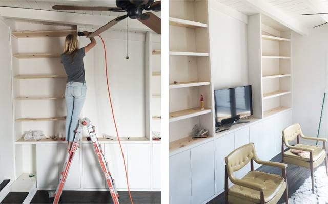 Sarah Sherman Samuel House Diy Built Shelving