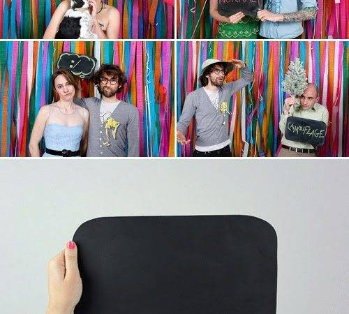 Say Cheese Fun Booth Prop Ideas