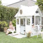 Scandinavian Makeover Wooden Playhouse Winter Daisy