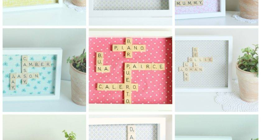Scrabble Tile Art Design Ideas