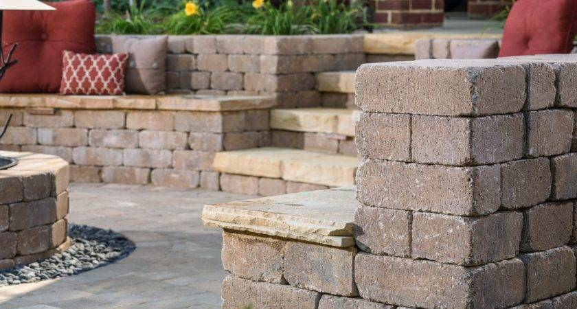 Seat Wall Design Ideas Outdoor Living Belgard