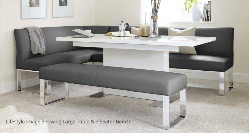 Seater Right Hand Corner Bench Extending Dining Table