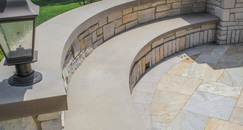 Seating Wall Montano Landscaping