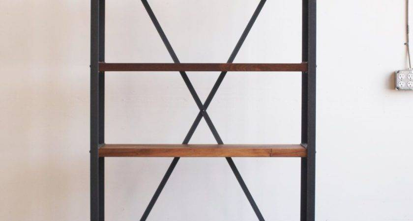 Select Decorate Industrial Bookcase