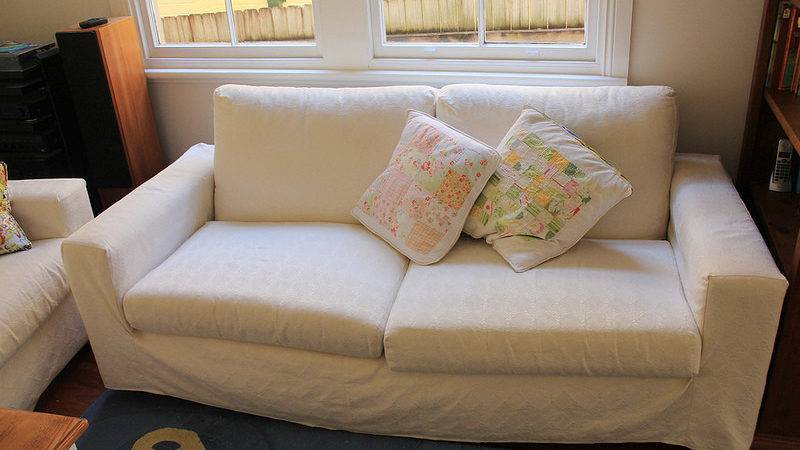 Sew Paint Make Loose Sofa Covers